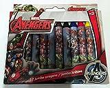 Marvel Avengers 12 Jumbo Wax Crayons