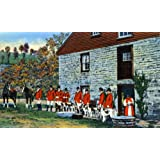 Blessing the Fox Hounds, Lexington, Kentucky. An 8x10-inch enlargement of a Vintage Postcard