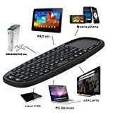 Kingzer 2.4GHz Rii Mini I10 Wireless Keyboard With Touchpad For HTPC PS3 XBOX360 2.4G