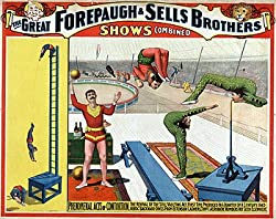 Circus Poster Forepaugh & Sells Bros. Photograph - Beautiful 16x20-inch Photographic Print from the Library of Congress Collection