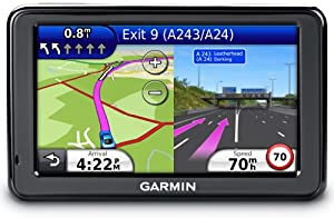 "Garmin nuvi 2595LMT 5"" Sat Nav with UK and Full Europe Maps, Free Lifetime Map Updates and Free Lifetime Traffic Alerts and Bluetooth (discontinued by manufacturer)"