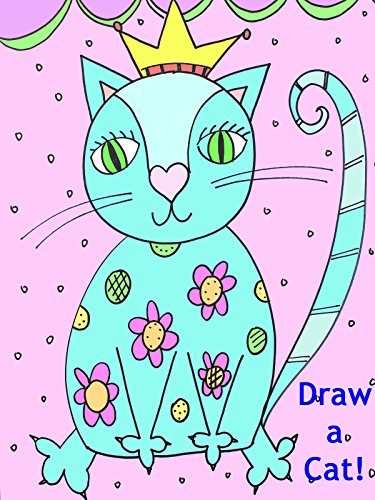 Drawing Lesson for Children: Queen Cat