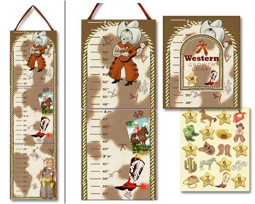 Dolce Mia Western Tots Growth Chart