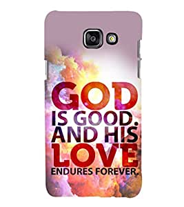 printtech Cool Quotes God Back Case Cover for Samsung Galaxy A3 (2016)