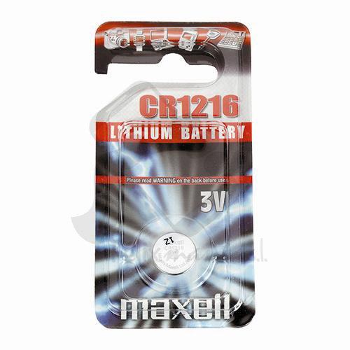 Emballage Original De Boutons 3 V Maxell 1 Pile Cr1216 en Option D'autodécharge Lithium Battery Livraison 48/72H Felixmania®