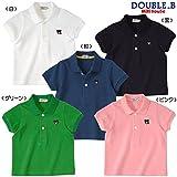 ダブルB(mikihouse) EverydayDouble_B 半袖ポロシャツ 110cm 黒(05)