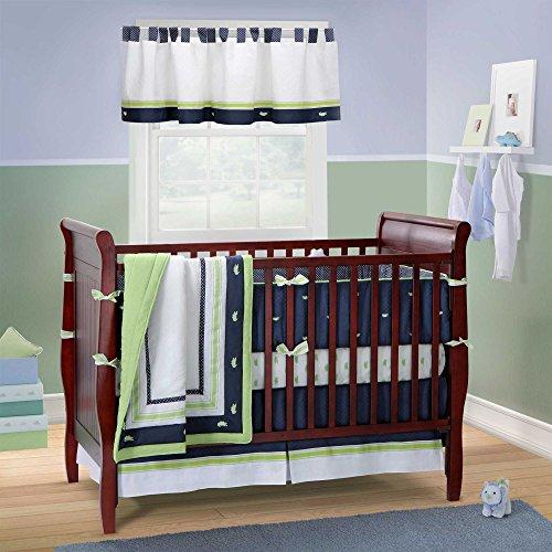 Nantucket 3pc Crib Bedding Set By Bananafish - 1