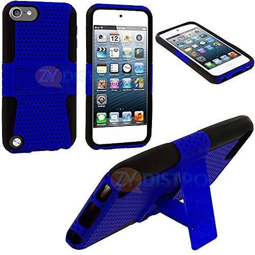 Mylife (Tm) Blue + Black Survivor Shield (Built In Kickstand) For Moto X By Motorola (Fits Google Play Edition, Xt1049, Xt1053, Xt1055, Xt1056, Xt1058, Xt1060) Smartphone Body Glove Case (External Hard Sleek Full Armor Protector + Internal Soft Silicone P