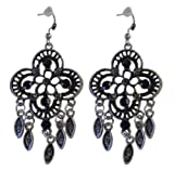 Women's Fashion CloverShaped Dangle Earrings 3 Inches