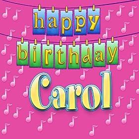 carol personalized ingrid dumosch from the album happy birthday carol