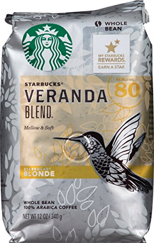 Starbucks Veranda, Whole Bean Coffee, 12 oz (Light Roast Decaf Whole Bean compare prices)