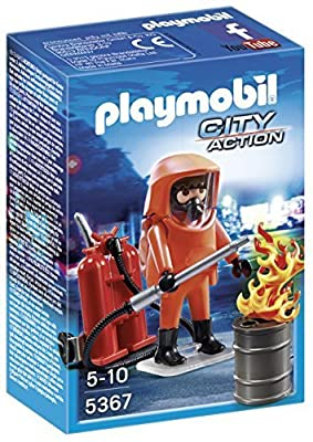 PLAYMOBIL 5367 - Feuerwehr-Spezialeinsatz
