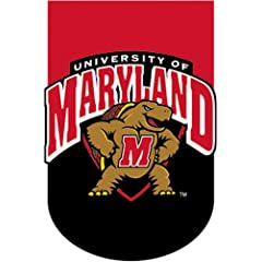 University of Maryland Terrapins - Applique Style -Standard Large Size 28 Inch X 40... by Custom Decor