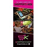 """Shopper Kaddy Mountable to Shopping Cart Handlebar for Hands Free Shopping holds smart phones, 7""""tablets,coupons,write on it for notes"""