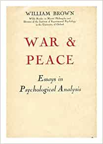 war and peace analysis essay