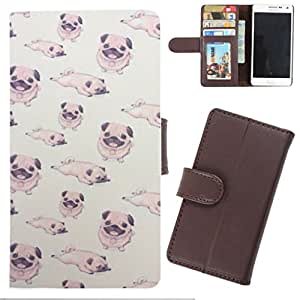DooDa - For Samsung Galaxy E7 PU Leather Designer Fashionable Fancy Wallet Flip Case Cover Pouch With Card, ID & Cash Slots And Smooth Inner Velvet With Strong Magnetic Lock