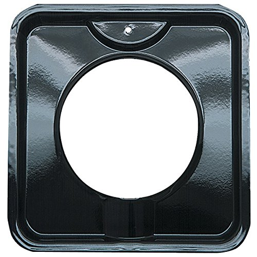 range-kleen-p400-775-porcelain-black-square-gas-drip-pan