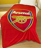 Zap Arsenal Red Crest Fleece Blanket