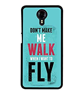 Vizagbeats Walk and Fly Back Case Cover for MICROMAX XPRESS 2 E313