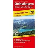 Motorradkarte Südostbayern - Österreichische Alpen: Mit Tourenvorschlägen, Ausflugszielen, Einkehr- & Freizeittipps, reissfest, wetterfest, abwischbar, GPS-genau. 1:200000