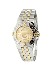 Breitling Women's Starliner Two-tone Diamond Watch B7134012/H544