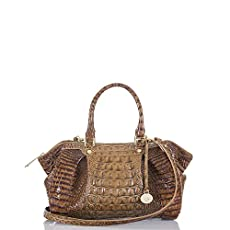 Small Faye Satchel<br>Toasted Almond Melbourne