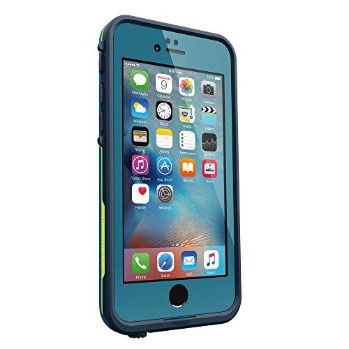 日本正規代理店品・iPhone本体保証付LIFEPROOF 防水 防塵 耐衝撃ケース fre for iPhone 6/6s Banzai Blue IP-68 MIL STD 810F-516 77-52566