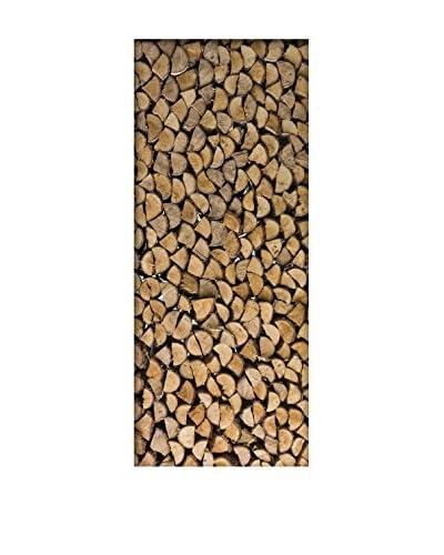 Ambiance Live Vinile Decorativo Door 204×83 cm – Firewood
