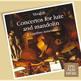 Vivaldi : Concertos for Lute and Mandolin (DAW 50)