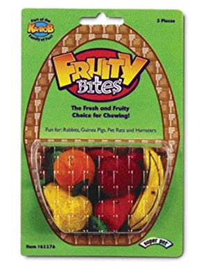 Click to buy Rabbit Toy: Super Pet Fruity Bites Small Animal Chew Toy from Amazon!