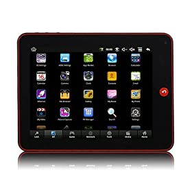 New MID 806 VIA 8650 Google Android 2.2 Os 8 Inch 16:9 Tablet Pc 800mhz Black