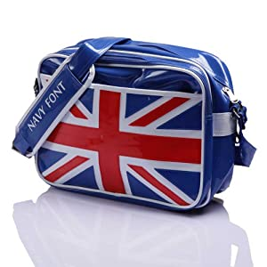 Navyfont Men Women Sling Bags NF 100589 B Blue