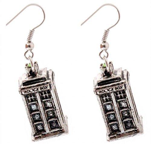 Doctor Who - Tardis Earrings