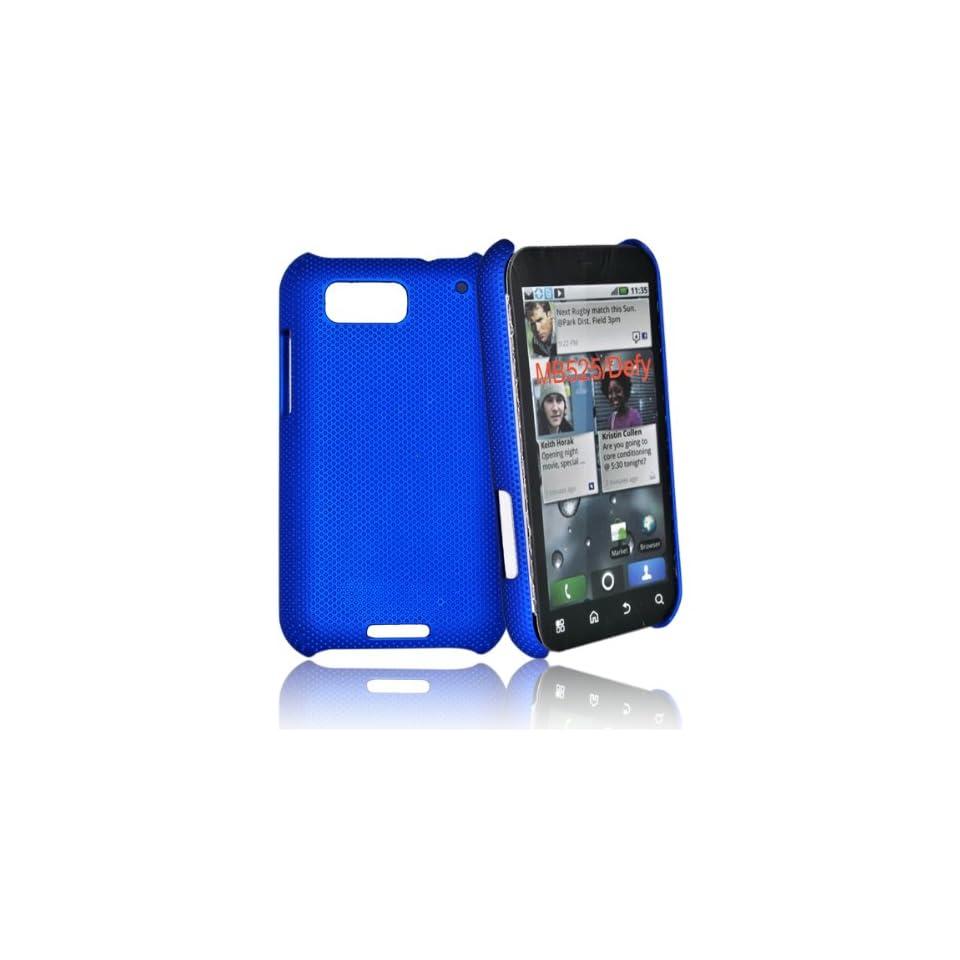 mobile palace  Blue Hybrid Skin Case Cover For motorola