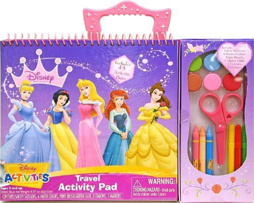 Disney Princess Travel Activity Pad