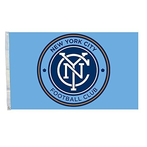 SUPER MLS Team Logo New York City Football Club Flag 3*5 Foot (New York City Football Club Flag compare prices)