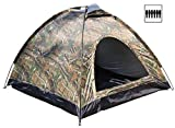 7Trees SLC6P-220 AUTOMATIC QUICK SETUP 6-Person All Season Camping Tent