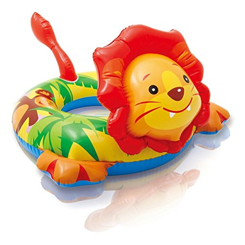 Intex Big Animal Swim Ring Pool Float (Lion)