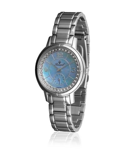 Bassel Reloj con movimiento cuarzo suizo 60128A Plateado 36  mm