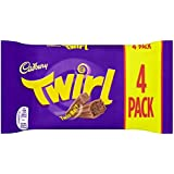 Cadbury Twirl 4 Bars (Pack of 6, Total 24 Bars)