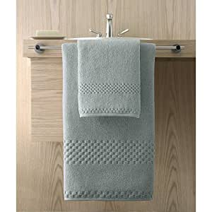 Kassatex Hotelier Collection Towels, Wash Cloth - Sterling Blue