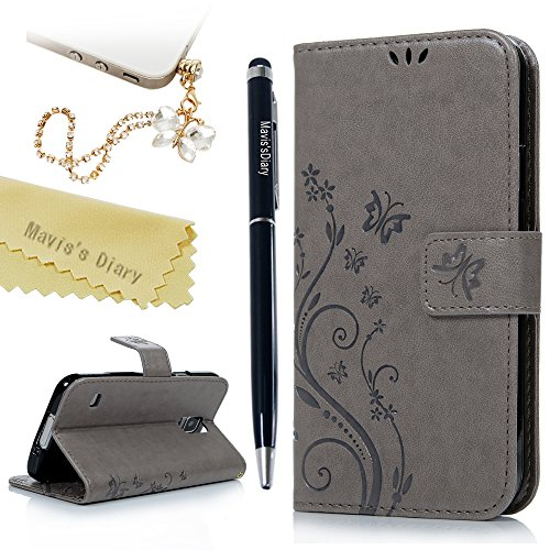 s5-case-galaxy-s5-case-maviss-diary-pu-leather-wallet-cover-magnetic-closure-flip-case-butterfly-flo