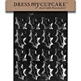 Dress My Cupcake DMCC178 Chocolate Candy Mold Holly Leaves 2 Sizes Christmas