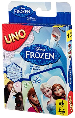 Disney Frozen UNO Card Game (How To Draw Olaf compare prices)