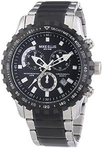 Mike Ellis New York Herren-Armbanduhr XL Chronograph Quarz Edelstahl 17987/2
