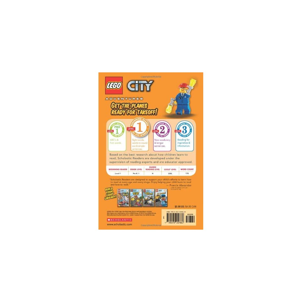 Ready for Takeoff (LEGO City, Scholastic Reader, Level 1)