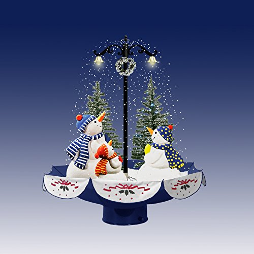 75cm-Snowing-Christmas-Character-Decoration-Snowman-Scene-with-Trees-Indoor-Christmas-Decorations