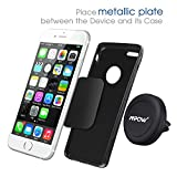 Car Mount,Mpow Grip Magic Mobile Phone Cradle Air Vent Magnetic Phone Holder Universal Car Mount for iPhone 6/6 Plus/5 Samsung S6/S7 Nexus 7 Huawei P9 and other Andriod Cellphones(Black)