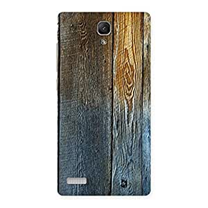 Cute Wall Bar Wood Back Case Cover for Redmi Note Prime