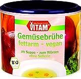 VITAM Gemüsebrühe fettarm mit Bio-Hefeextrakt, 3er Pack (3 x 200 g)